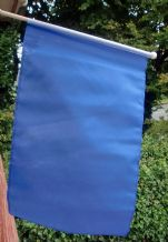 HAND WAVING FLAG - Plain Blue